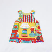 Bi TANSAN Kids Tunic「Welcome Fruits」pink