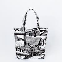 TANSAN Tote Bag L 「散歩道」black