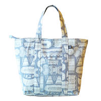 Travel Bag 「木の彫刻」gray