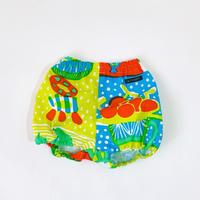 123 Bi TANSAN Pumpkin Pants「Welcome Fruits」green