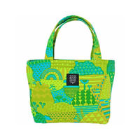 Mini tote Bag 「YAMANAM」green