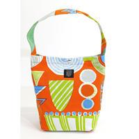 マチトートバッグ 「ランプフラワー」orange