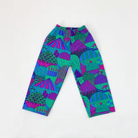 Bi TANSAN Pants 「Yamanami」purple