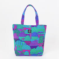 TANSAN Tote Bag L 「Yamanami」purple