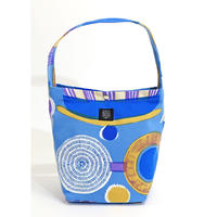 Machi Bag 「Lamp Flower」blue