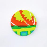 TANSAN Button Badge 006