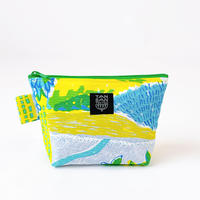 Machi Pouch M「Tea Time」yellow