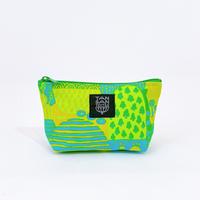 Machi Pouch Sサイズ「Yamanami」 green