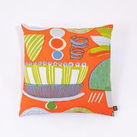 Cushion Cover「Lamp Flower」orange