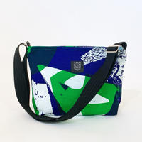 TANSAN Shoulder bag「Ishi」blue green