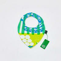 Bi TANSAN Bib ▼「Welcome Fruits」green