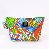 Machi Pouch Lサイズ「Tea Time」orange