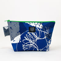 Machi Pouch Lサイズ「Ishi」blue gray