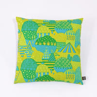 Cushion Cover「Yamanami」green