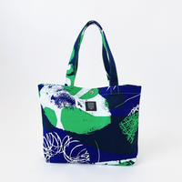 TANSAN Tote Bag M 「石」blue green