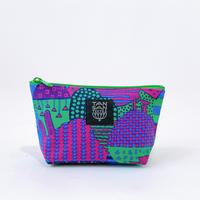 Machi Pouch Sサイズ「Yamanami」 purple