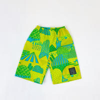 Bi TANSAN Short Pants「Yamanami」green