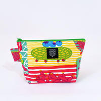 Machi Pouch M「Welcome Fruits」pink