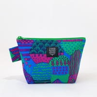 Machi Pouch Mサイズ「Yamanami」purple