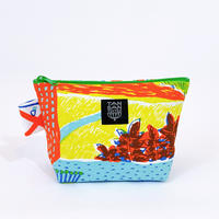 Machi Pouch M「Tea Time」orange