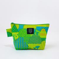Machi Pouch Mサイズ「Yamanami」green