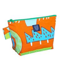 machi POUCH Lサイズ「ランプフラワー」orange