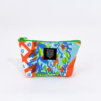 Machi Pouch S「Tea Time」orange