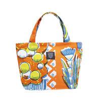 Mini tote Bag 「TEA TIME」orange