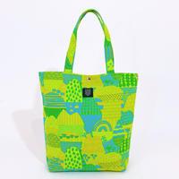 TANSAN Tote Bag L 「Yamanami」green