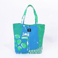 TANSAN Tote Bag L 「Suiden」blue