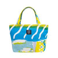 Mini tote Bag 「Tea Time」yellow