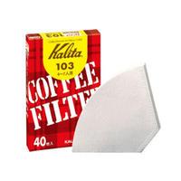 【 Kalita】103ロシ ホワイト40枚入り