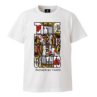 """RONER """"The Emperor's New Clothes"""" T-shirt WHITE"""