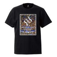 "RONER  ""Last judgement""  box logo T-shirt / BLACK"
