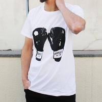 RONER by taRo グローブTシャツ WHITE