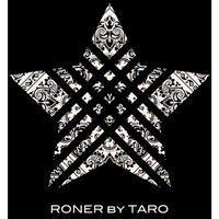 RONER  STAR  Paisley  T-shirt / BLACK