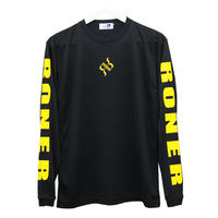 RONER        long sleeve logo T-shirt