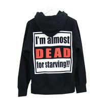 RONER hungry hoody BLACK