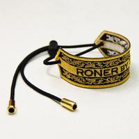 RONER embroidery bracelet / Arabesque GOLDxGOLD