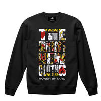 "RONER ""The Emperor's New Clothes"" sweat shirt  BLACK"