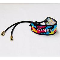 RONER embroidery bracelet / crazy camo