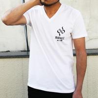 RONER by taRoワンポイントロゴTシャツ  WHITE
