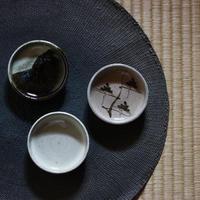 中里太郎右衛門窯 唐津まめ皿F(3枚組)