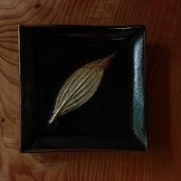 中里太郎右衛門窯 木の葉銘々皿(わびすけ)
