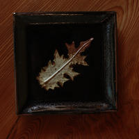 中里太郎右衛門窯 木の葉銘々皿(のあざみ)