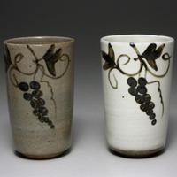 中里太郎右衛門窯 唐津杯(2個組)