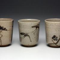 絵唐津杯 (3個組)