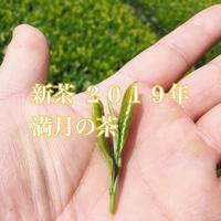 【限定100袋】 無農薬・川根茶 新茶 2019年5月18日摘 満月の茶(内容量: 100g)