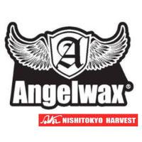 ANGELWAX ステッカー ホワイト W50×H34 【C3】