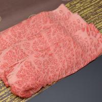 自社牧場で大切に育てられた最高級松阪牛のロース・肩ロース(すき焼き用) #松阪まるよし